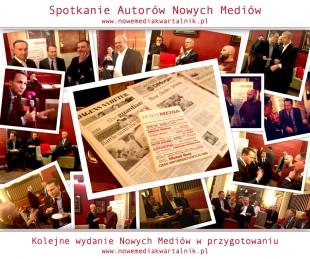 Spotkanie autorów kwartalnika Nowe Media